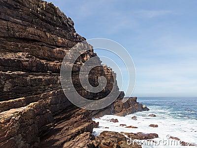 Rocky shoreline Cape of Good Hope