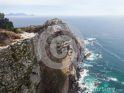 Rocky shoreline Cape Point
