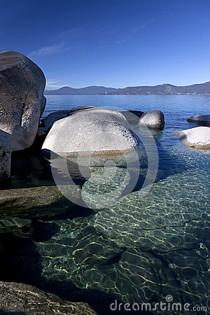 Rocky Shoreline, Lake Tahoe
