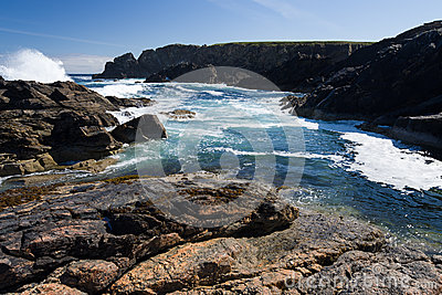 Rocky Shoreline in the Outer Hebrides