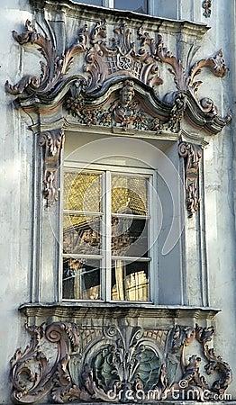 Rococo window