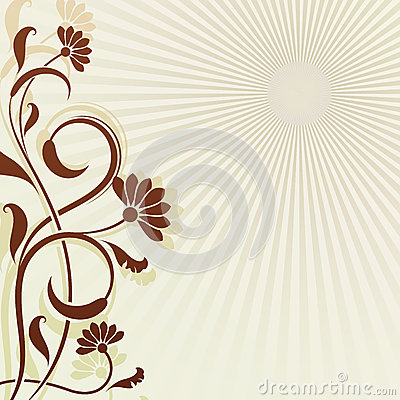 Rocznika kwiatu tło