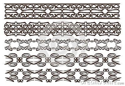 Rocznika projekta dekoracyjni elementy