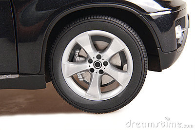 Roda de carro de SUV