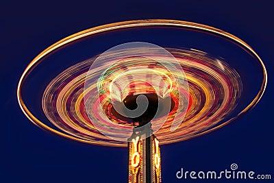 Roda do io-io do carnaval