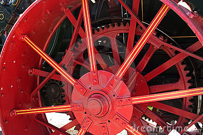 Roda vermelha