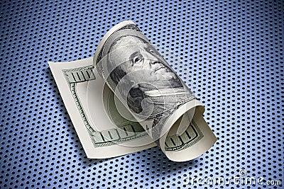 Rodado cientos dólares Bill