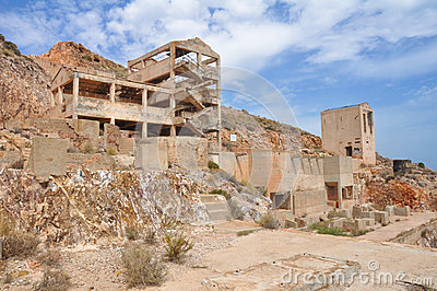 Rodalquilar gold mine ruins, Cabo de Gata Natural Park