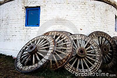 Rodas de madeira
