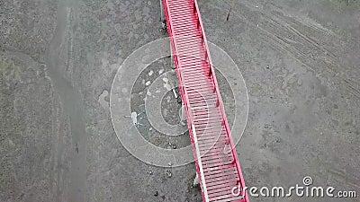 Rode brug stock footage