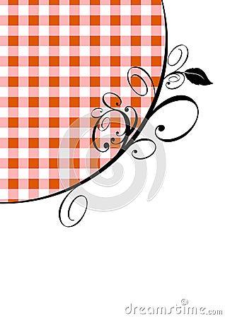 Rode gingang en ontwerp