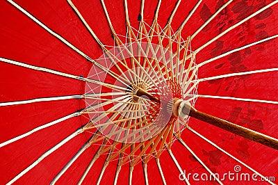 Rode Paraplu