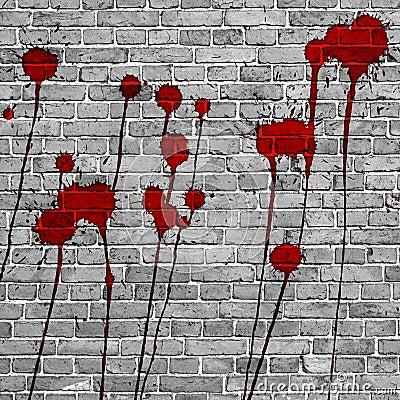 Rode verf royalty vrije stock afbeelding afbeelding 32652796 - Maken rode verf ...