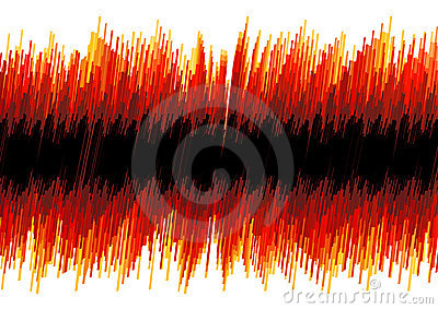 Rode vervormde oscilloscoopsamenvatting