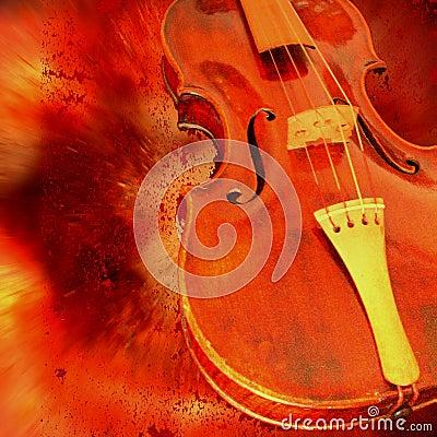 Rode viool