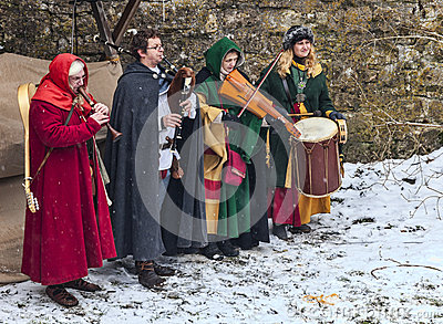 Medieval Band Editorial Image