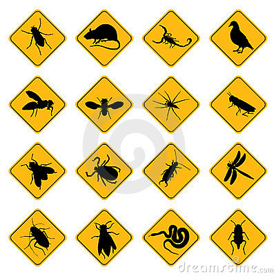 Free Rodent And Pest Signs Stock Photo - 8777560