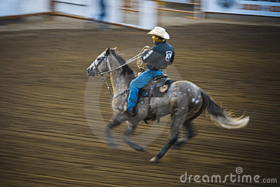 Rodeo Editorial Stock Image