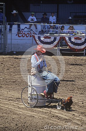 Rodeo Clown Editorial Photo