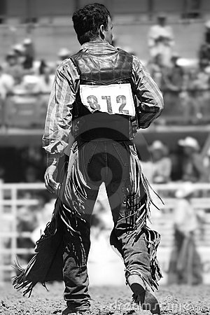 Rodeo Cowboy (BW)
