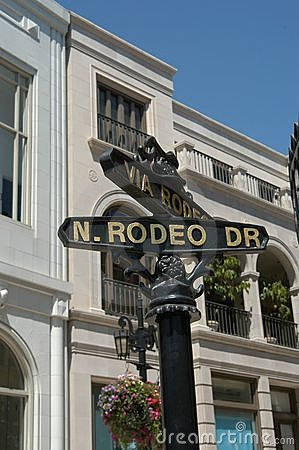 Free Rodeo Drive Royalty Free Stock Image - 11736