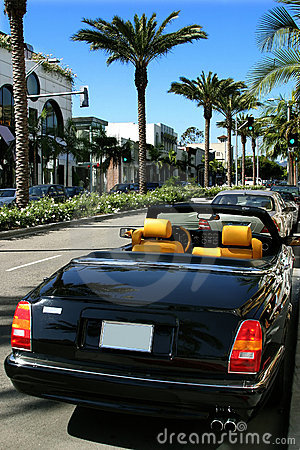 Free Rodeo Drive, Beverly Hills Stock Photography - 2090272