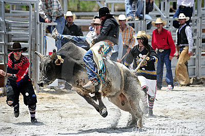 Rodeo Show Editorial Image