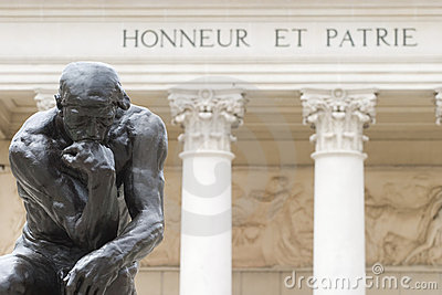 Rodin s Thinker Editorial Photography