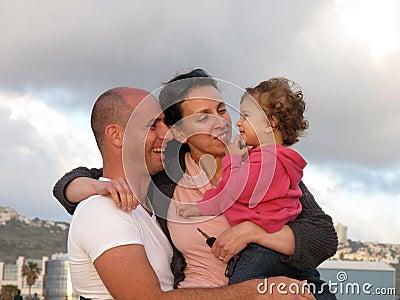 Rodzina szczęśliwa