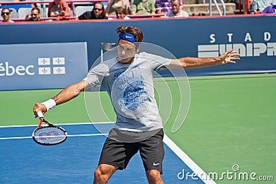 Roger Federer Editorial Photo