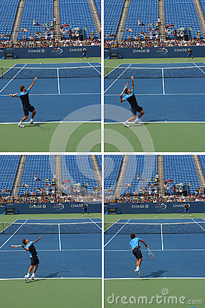 Roger Federer Editorial Stock Photo
