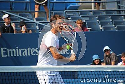 Roger Federer Redactionele Stock Afbeelding