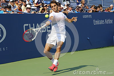 Roger Federer Redaktionell Fotografering för Bildbyråer