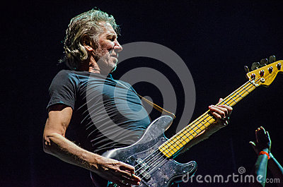 Roger Waters bass guitar Editorial Image