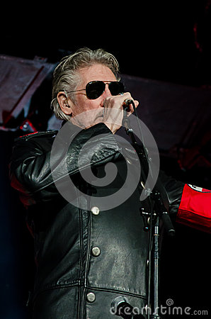 Roger Waters (Pink Floyd) The Wall Tour Editorial Photography