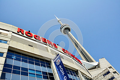 Rogers Center Editorial Stock Photo