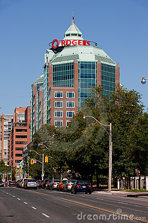 Rogers Headquarters in Toronto Editorial Image