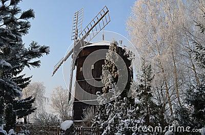 Rogierowko, windmill