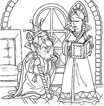 Roi et princesse