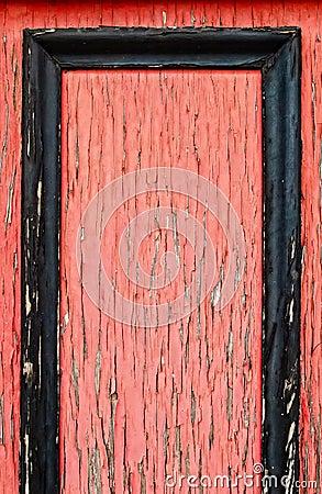 Rojo enmarcado