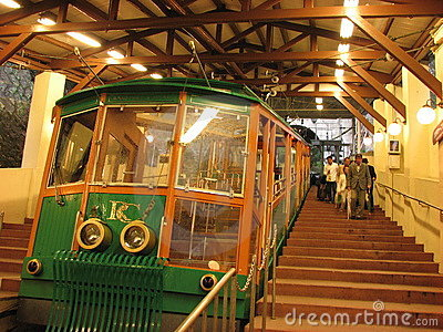 Rokko Cable Car Editorial Stock Image