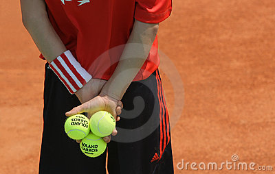 Roland Garros 2010 - the atmosphere Editorial Photography