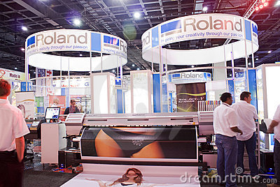 Roland Stall 01 - Sign Africa 2010 Editorial Stock Photo