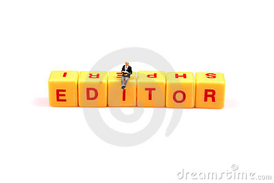 Role of editor
