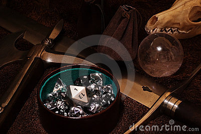 Role playing game still life