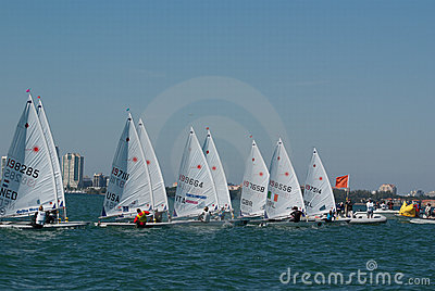 Rolex Miami OCR, Laser Radial Start Editorial Photography