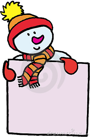 Rolig name snowman för emblem