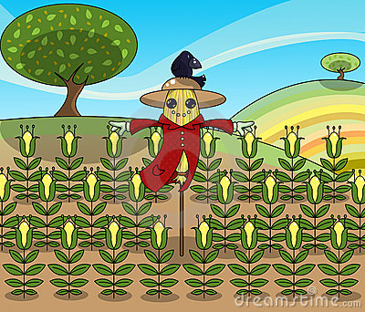 Rolig scarecrow