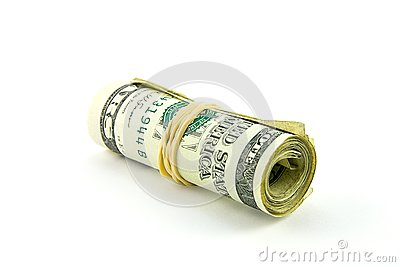 Roll of Dollar Bills