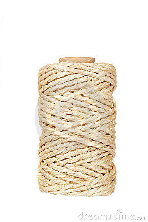 Roll of hemp rope